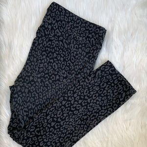 Lane Bryant Leopard Print Jeggings